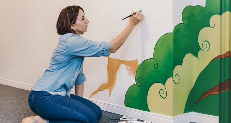 Getting Started As A Mural Painter