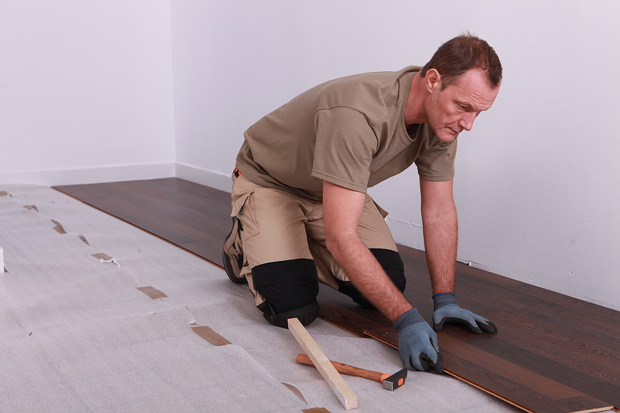 Timber floor installation in Melbourne expert laying laminate flooring